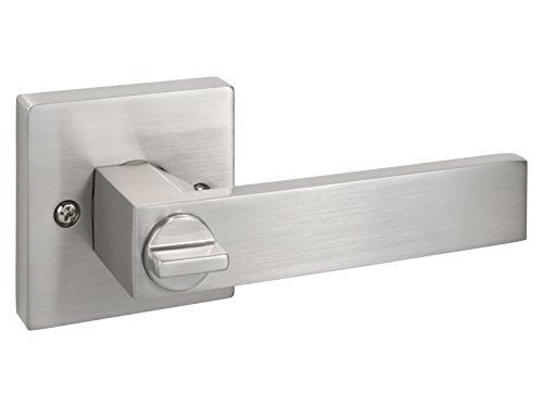 Quad - Square Privacy Door Lever / Door Handle by Nova Hardware (Privacy) by Nova Hardware