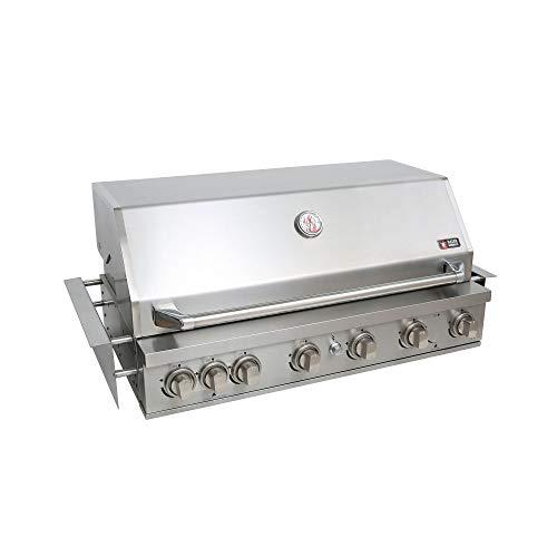Mayer Barbecue ZUNDA Einbau-Gasgrill MGG-361 Master für Outdoorküchen, Gartenküche, 1 Infrarot-Backburner