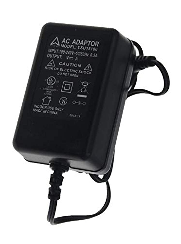 AHRMA [UL Listed] Global AC/DC Adapter Compatible with Spirit Fitness Esprit EL255 EL455 Elliptical Trainer Recumbent Exercise Bicycle Power Supply Cord Cable PS Wall Home Battery Charger Mains PSU