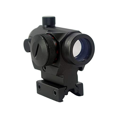 Cobra Tactical Solutions XAROG 1X20 ILGR Red Dot Red Dot Sight I Red & Green Sighting Point I Light Point Sight I Reflex Sight I For Picatinny Rail I For Airsoft Weapons I Quick Release