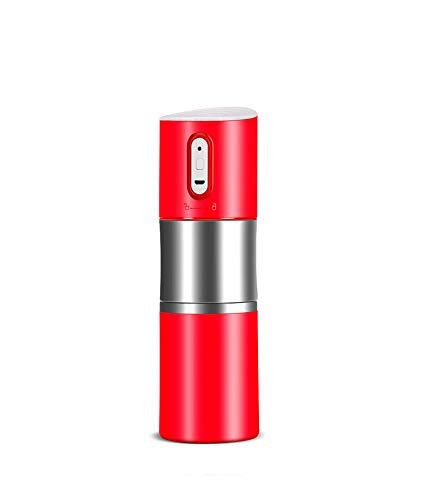 Draagbare koffiemachine, kleine apparaat slijpen Cup Grinder, oplaadbare automatische koffiemachine Rood