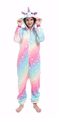 Pijamas para Adultos Animal Cosplay Disfraz de Halloween Onesie Marrón