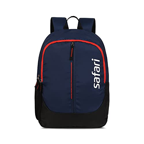 Safari Sheild 26 Ltrs Water Resistant Casual Backpack - Blue