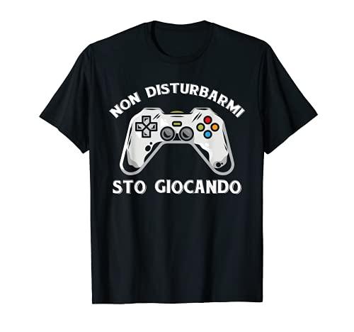 Controller Non Disturbarmi Sto Giocando Idea Regalo Gaming Maglietta