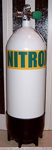 HTD Nitroxtauchgerät 15 Liter 232bar komplett Automatenanschluss Nitroxventil M26x2