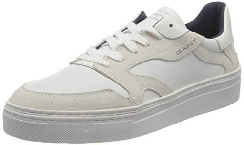 GANT Footwear Herren Mc Julien Sneaker, Bright White, 45 EU