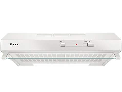Neff D60LAA0W1 Unterbauhaube N30 / 60cm / Abluft oder Umluft / Energieeffizienz D / weiß