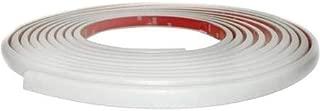 Cowles 3330202 Protekto-Trim European Style White Body Side Molding