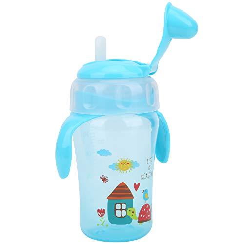 Taza De Pico De Pato Para Bebés, Taza Para Beber Para Bebés, Diseño Antiexpansión Suave Y Seguro, Respetuoso Con El Medio Ambiente Para Bebidas Caseras Para Bebés Al Aire Libre(azul)