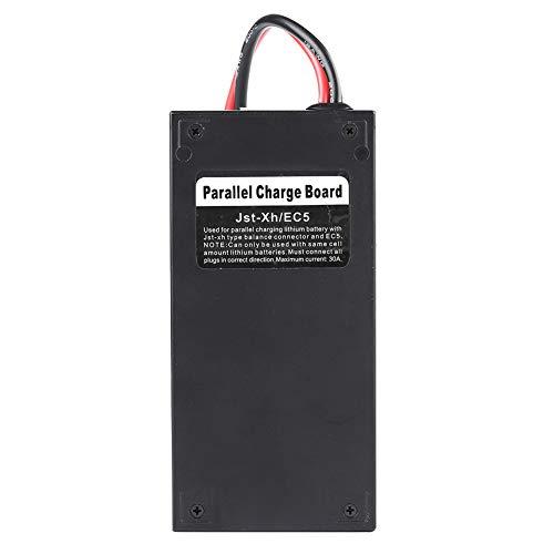 Tablero de carga en paralelo, tamaño pequeño, peso ligero, fácil de transportar Cargador Tablero de carga de equilibrio de batería para cargador de batería de automóvil con control remoto