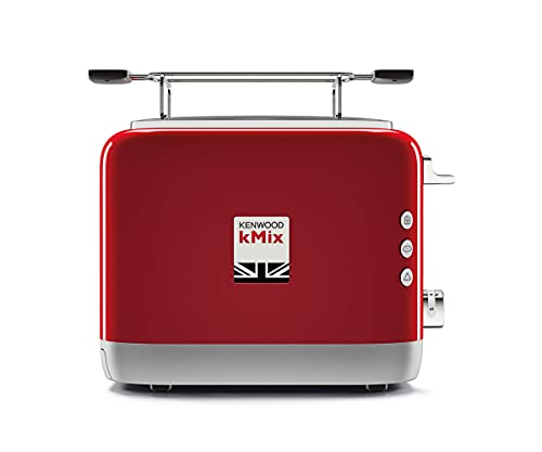 Kenwood tcx751rd picasso 2 slice toaster - red