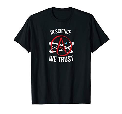 Atheism Science Atom Logo Atheist T-Shirt