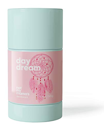 Not My Mama's Aluminum-free Deodorant for Kids and Teens - All Natural Deodorant for Girls, Safe and Effective for Kids, Teens & Adults (Honeysuckle) - 1.7 OZ