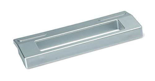Tirador de puerta plateado universal para frigorífico, congelador, 189 x 65 x 18 mm