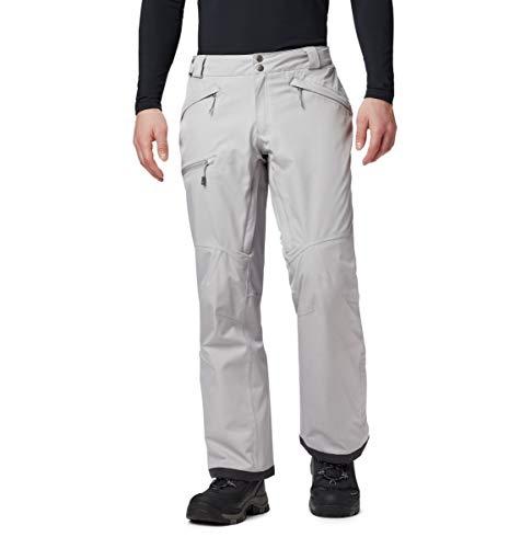 Columbia Men's Cushman Crest Pant, Grey Heather, 6X Regular