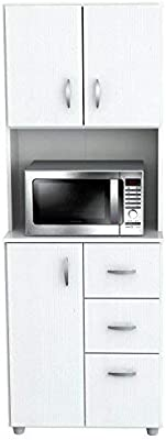 Amazon.com: Gabinete De Cocina Gabinetes De Baño Moderno Con Gabetas ...