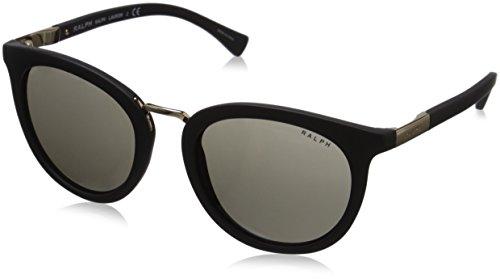 Ralph Lauren Ralph by Damen 0Ra5207 105873 52 Sonnenbrille, Schwarz (Matte Black/Smokesolid)