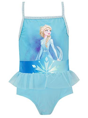 Disney Mädchen Frozen Badeanzug Blau 92