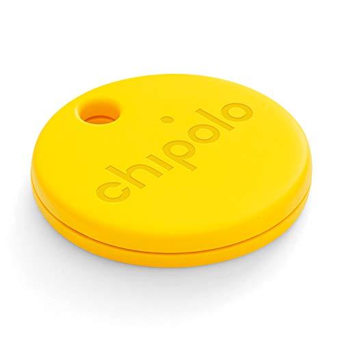 Chipolo ONE (2020) - Lautester Wasserresistentes Bluetooth Schlüsselfinder (Gelb)