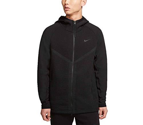 Nike Sportswear Tech Pack Windrunner Men's Full-Zip Hoodie CJ5147-010 Size 2XL Black/Anthracite/Black