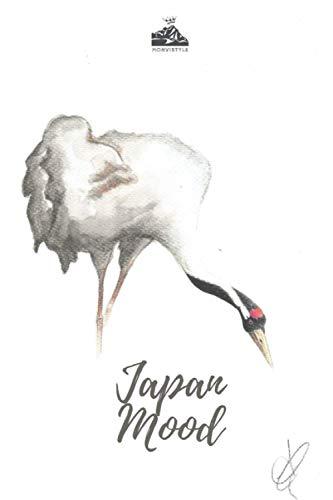 JAPAN MOOD Agenda giornaliera non datata per scrivere 366 giorni, formato A5 (15,24X22,86cm) con 185 pagine, impostato per organizzare i tuoi impegni ... Copertina artistica in stile giapponese.