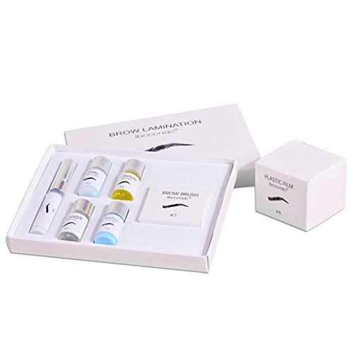Kit Rehaussement De Cils&Sourcils 2-en-1, Eyelash Perming Kit, Lash Lift Kit Rehaussement De Cils, Kit Permanente De Cils, Kit D'extension Extensions De Cils, Eyelash&Brow Lamination Kit pour Salon