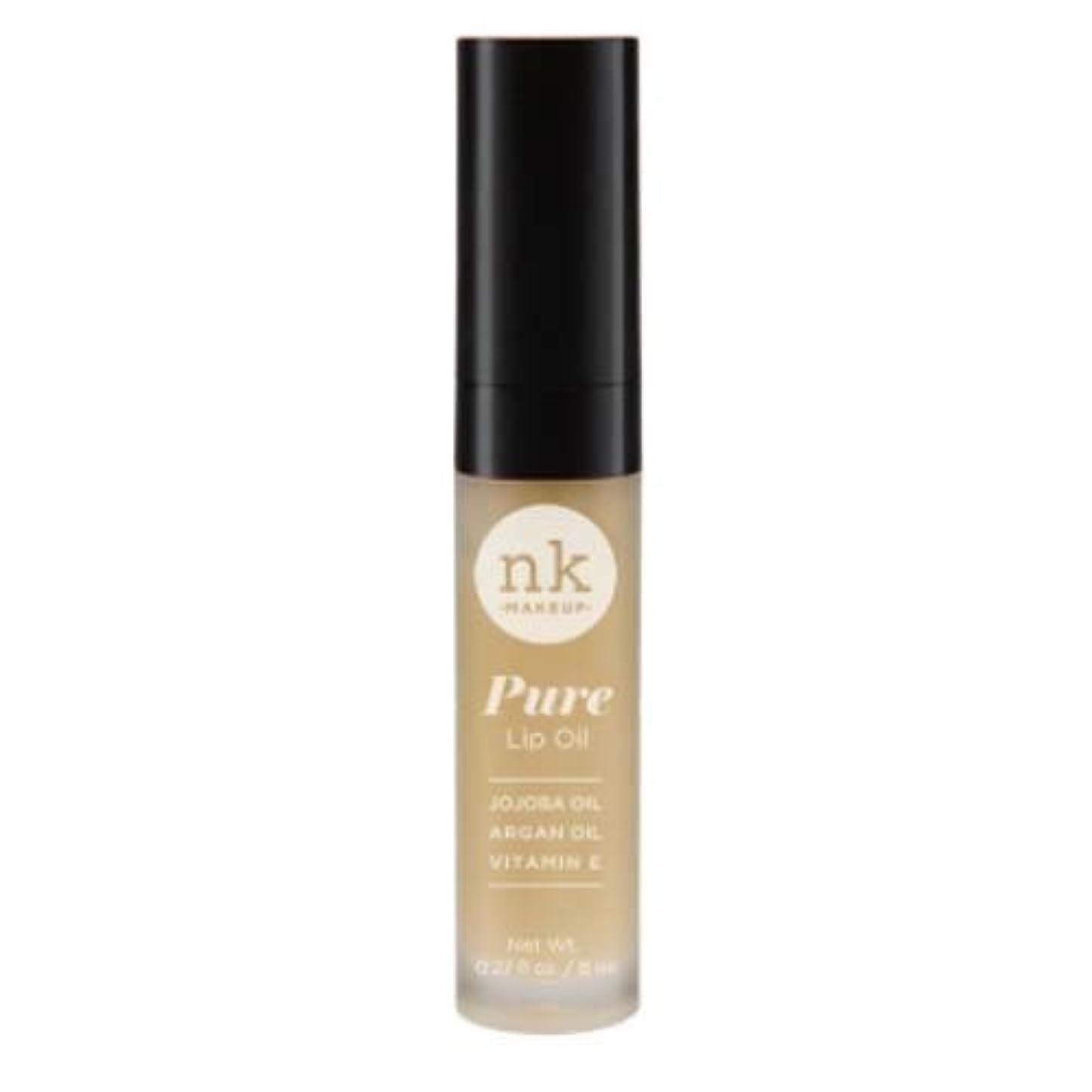隙間ペリスコープ本物の(3 Pack) NICKA K Pure Lip Oil - Cocoa (並行輸入品)