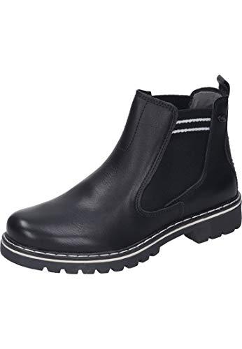 camel active Canberra 80, Damen Chelsea Boots, Schwarz (Black 1), 44 EU (9.5 UK)