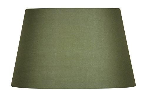Oaks Lighting Drum Lampenschirm, aus Baumwolle, 25,4cm Klassisch salbeigrün