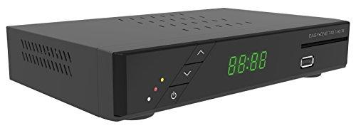 SetOne EasyOne 740 DVB-T HD IR Private und öffentlich Rechtliche Sender mit USB-PVR Funktion, schwarz