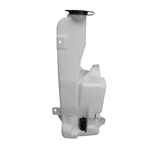 New Windshield Washer Tank For 1999-2007 Chevrolet Silverado Series, Gmc Sierra Series With Pump And Fluid Level Sensor For Models Without Rear Wiper GM1288155 12487670