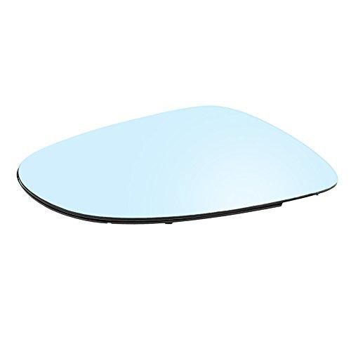 Glace De Rétroviseur Chauffant Droit, Keenso SI-A1069 Vitre Chauffante Electrique de Miroir d'Aile de Porte en Verre Latérale avec Support en Plastique Plaque d'Appui