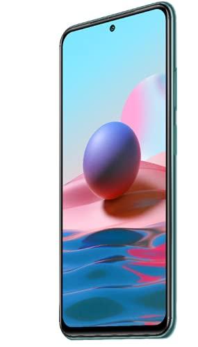 Xiaomi Redmi Note 10 Smartphone RAM 4GB ROM 128GB 6.43' AMOLED DotDisplay 5000mAh (typ) Batteria Ricarica rapida da 33W 48MP Wide-Angle telecamera Verde [Versione globale]
