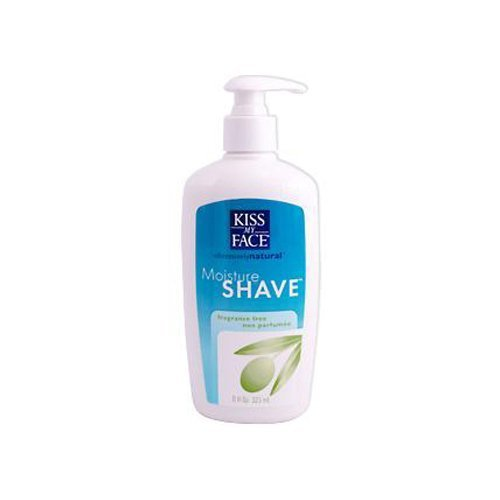 Kiss My Face Fragrance Free Moisture Shave, 11 Ounce -- 6 per case. by Kiss My Face