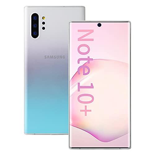 Samsung Note 10+ケース 超薄型 memumi Note 10プラス カバー 0.3㎜のスリム PPハードケース Qi充電対応 指...
