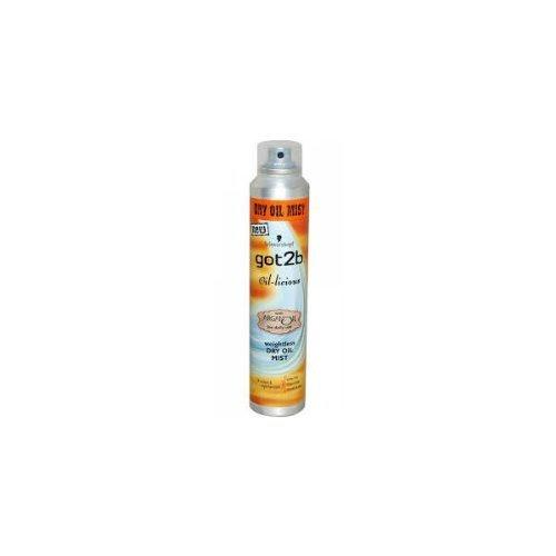 Schwarzkopf got2b Oil-Licious Weightless Dry Oil Mist 200ml by GOT 2B