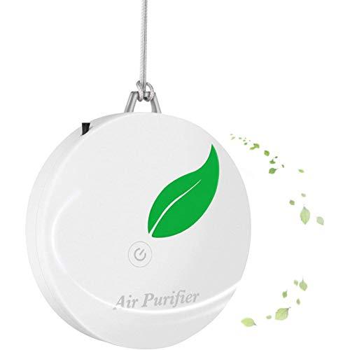 Fransande - Collar purificador de aire portátil para adultos y niños