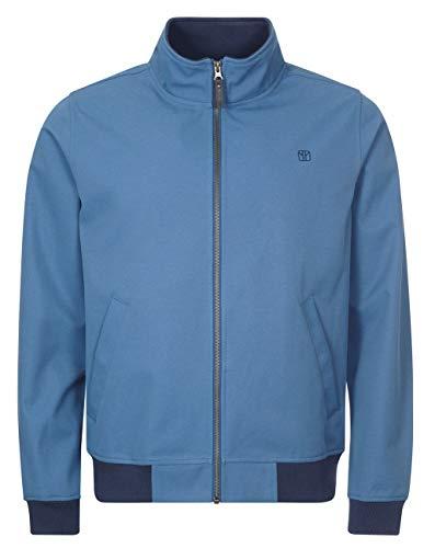 Elkline Herren Sofshelljacke Softwear Blouson, Farbe:stellarblue, Größe:S