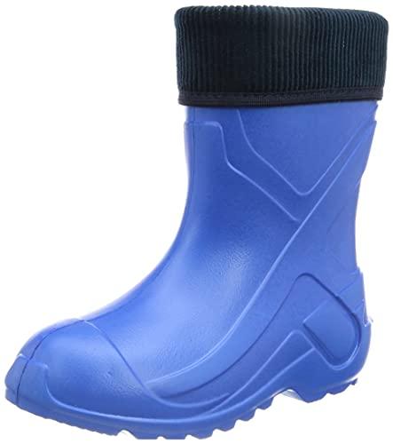 BECK Unisex-Kinder Ultraleicht Gummistiefel, Blau (34), 24/25