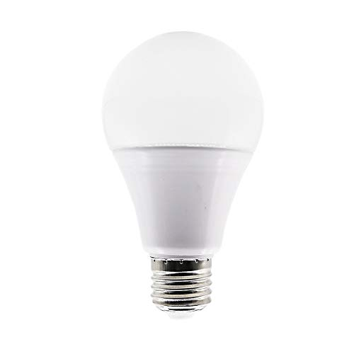 Bombillas LED Esférica Casquillo E27,12W Equivalencia 100 W,Blanco Cálido 3000K, 1050 Lúmenes,Bombilla LED de bajo consumo,No regulable,Pack de 1 Unidades