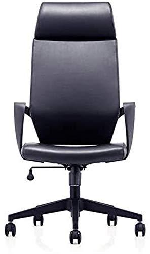 Silla de Oficina Giratoria Silla de Oficina, Oficina Silla del Personal giratoria, Silla Ordenador Personal, Director de Silla del Personal Silla (Color : Black)
