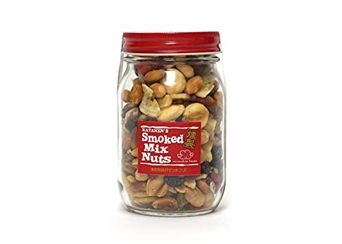 munchie foods(マンチーフーズ) MFSNB スモークミックスナッツ ボトル Smoked Mix Nuts in Bottle ロングボトル(245g) レッド