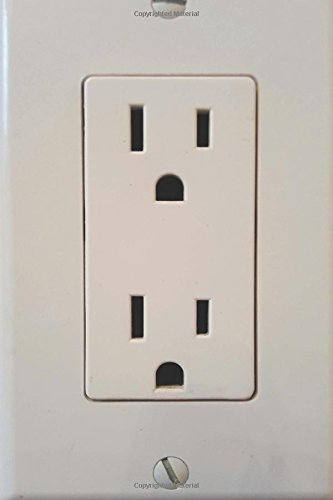 Funny Journal Humor Electrical Outlet: (Notebook, Diary, Blank Book) (Photo Cover Journals Notebooks Diaries)
