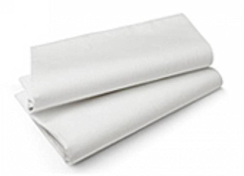 Duni 50 stuks tafelkleden van wit 110 x 110 huis en keuken, meerkleurig, eenheidsmaat