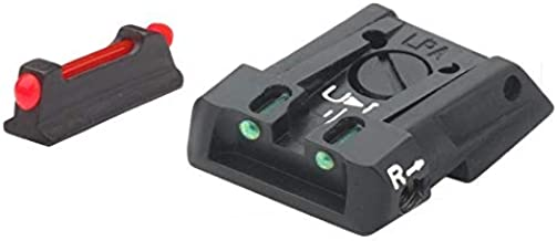 LPA SIGHTS Carry Sights for Walther PPQ Q5 Match - SPF13WA
