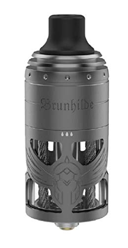 Authentic Vapefly Brunhilde 23mm MTL RTA Rebuildable Tank Atomizer 5ml (Gun metal)