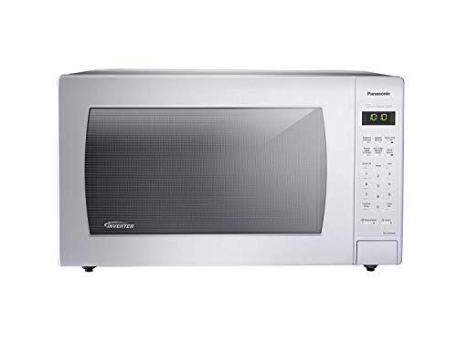 1100 watt white microwave - 1