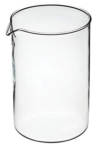 KitchenCraft Le'Xpress Ersatzglas für Cafetière, 12 Tassen, 1,5l