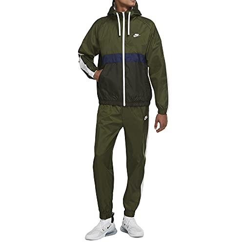 Nike Sportswear Woven, Hombres, Verde, XXL
