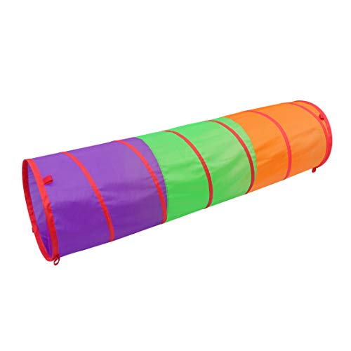 Sunny Days Entertainment 6 Foot Play Tunnel – Indoor Crawl Tube for...